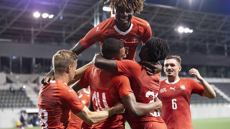6. Sieg im 6. Spiel: Das Schweizer U21-Nationalteam wahrt in der EM-Qualifikation seine Ungeschlagenheit
