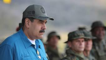 Venezuelas Staatschef Nicolás Maduro will sich keinem ausländischen Einfluss auf sein Land beugen und wies ein Ultimatum mehrerer EU-Staaten verstreichen. (Archivbild)