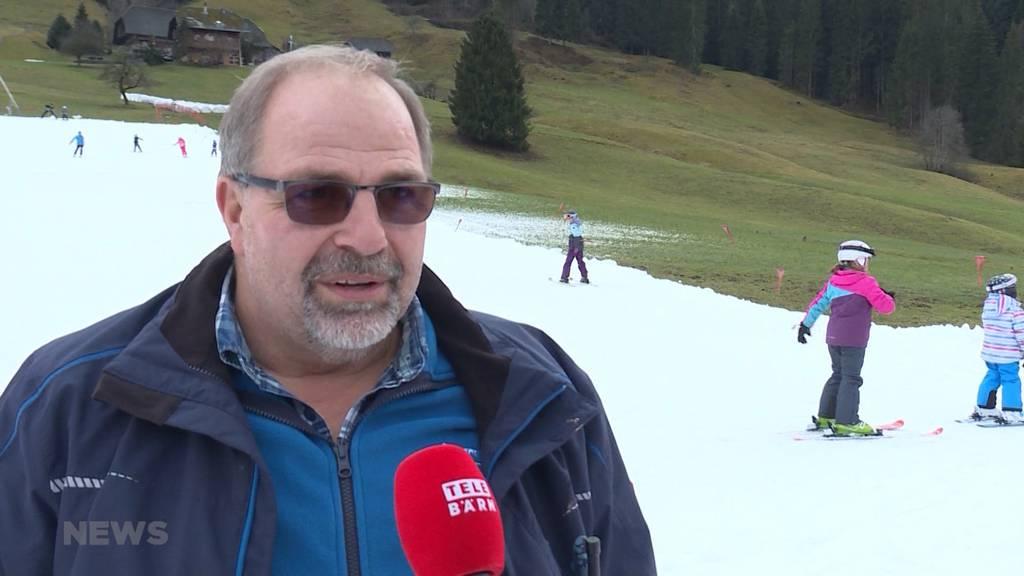 Skigebiete kämpfen mit zu wenig Schnee