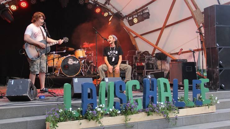 Gute Musik auf der Bühne, gute Organisation drumherum mit viel Hingabe: Das Open Air Lauschallee ist bei Bands und Publikum gleichermassen beliebt. (Archivbild)