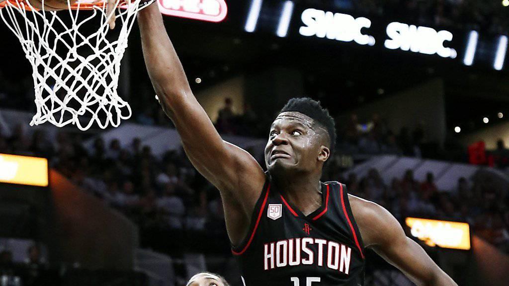 Trotz Niederlage mit starker Leistung: Clint Capela überzeugt bei Houston