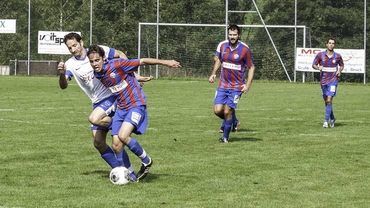 Simon Gebhardt traf für Birmensdorf zum 1:0.
