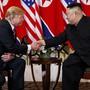 Übergabe der Atomwaffen: US-Präsident Donald Trump gab bei dem Treffen mit Nordkoreas Diktator Kim Jong Un in Hanoi unmissverständlich zu verstehen, was er unter Denuklearisierung der koreanischen Halbinsel verstehe. (Archivbild)