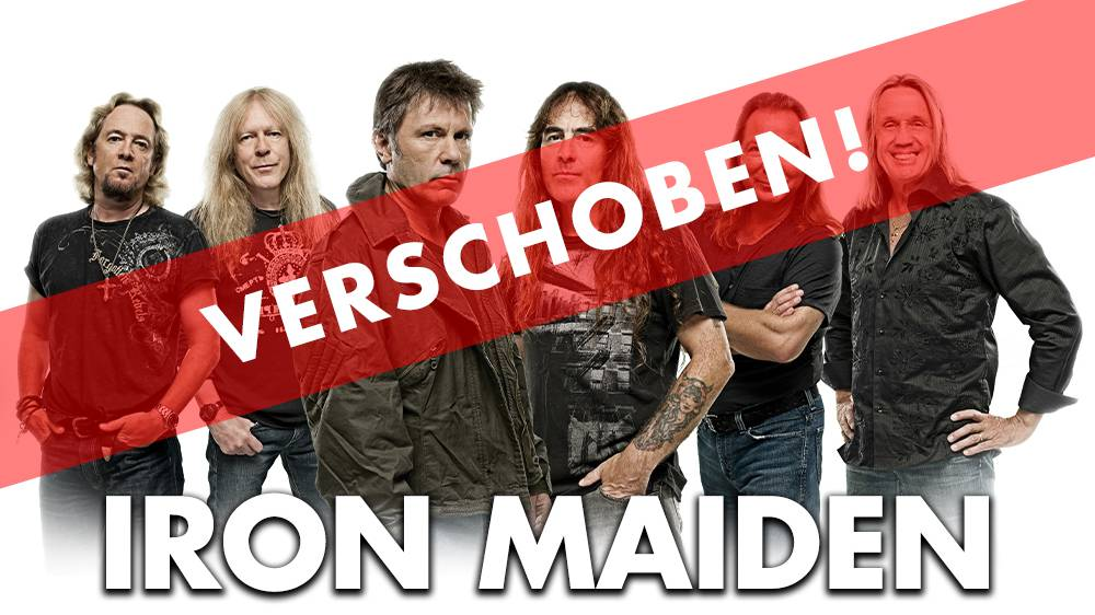 VERSCHOBEN: Iron Maiden - Das Biest kommt zurück in die Schweiz!