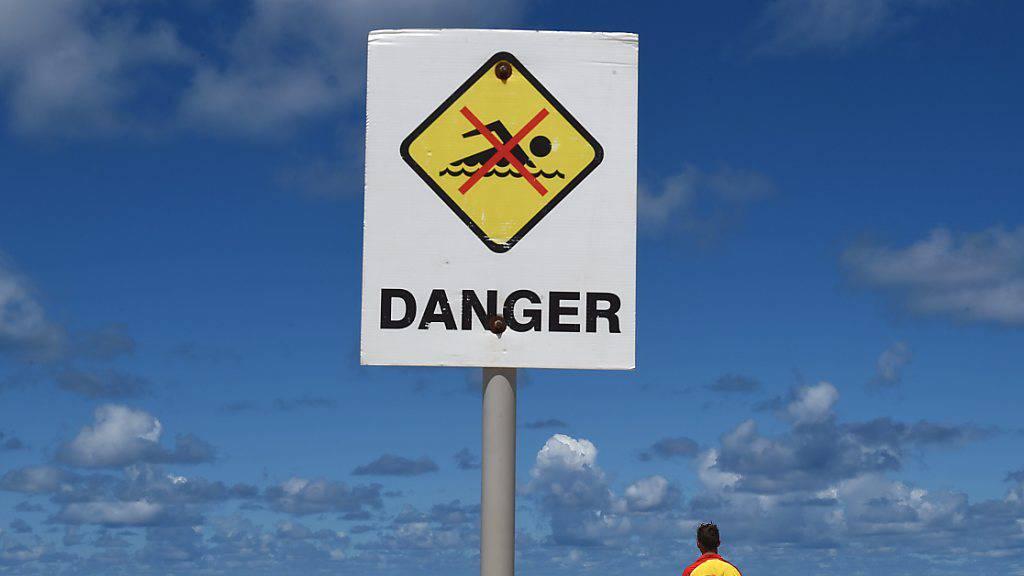 Mann bei Hai-Attacke in Australien verletzt