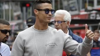 Der portugiesische Fussballstar Christiano Ronaldo wird wegen eines Vergewaltigungsvorwurfs vor ein US-Gericht zitiert. (Archivbild)