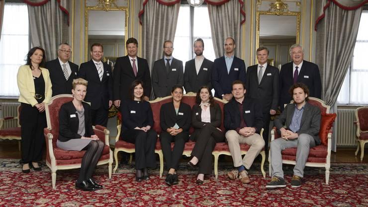 Fünf Start-Ups wurden mit dem De-Vigier-Preis geehrt.