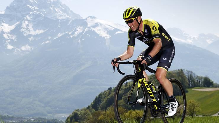 Michael Albasini - im Bild an der Tour de Romandie - gewann die Tour des Fjords in Norwegen