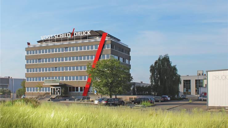 Das Druckerei-Gebäude in Derendingen. zvg