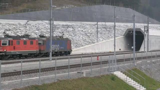 SBB testet Betrieb im Gotthard-Basistunnel
