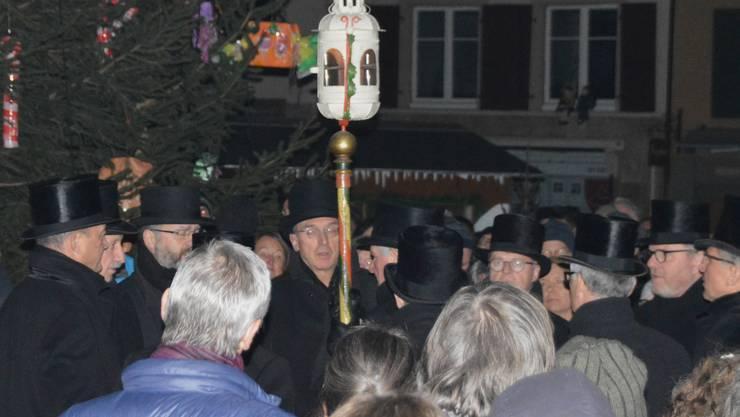 Das Brunnensingen fällt dieses Jahr aus. (Archivbild)