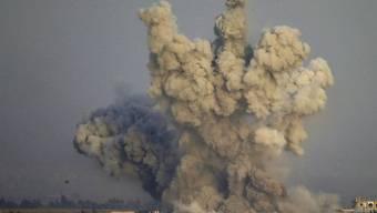 Noch herrscht in einigen Landesteilen Syriens Krieg - wie hier im Südwesten, in der Nähe der Golanhöhen.