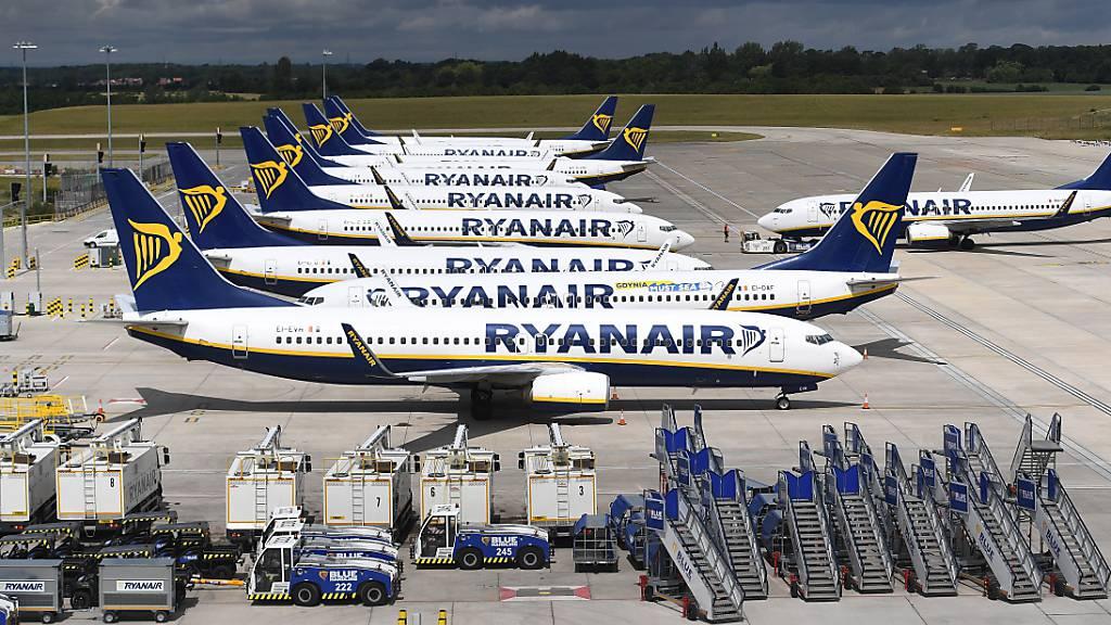 Ryanairs Geschäft bricht im Dezember noch stärker ein