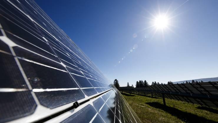 Das hochalpine Solarkraftwerk soll oberhalb der Lawinenüberbauung am Chüenihorn in Luzein GR entstehen.