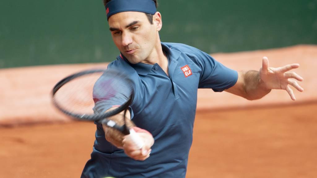 Federer beginnt in Paris gegen einen Qualifikanten