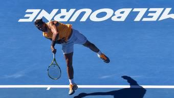 In Melbourne auf dem Weg in den Viertelfinal keinen Satz verloren: Rafael Nadal