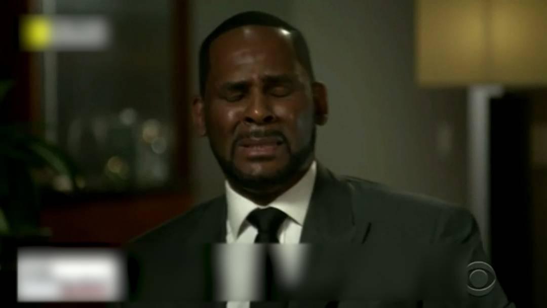 R. Kelly weint vor laufenden Kameras