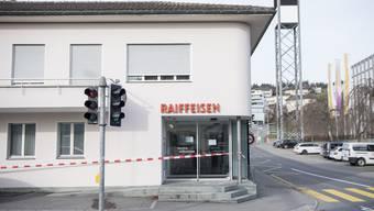 Der Tatort in Meggen LU.