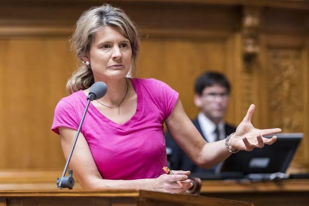 Barbara Steinemann, Nationalrätin der SVP.