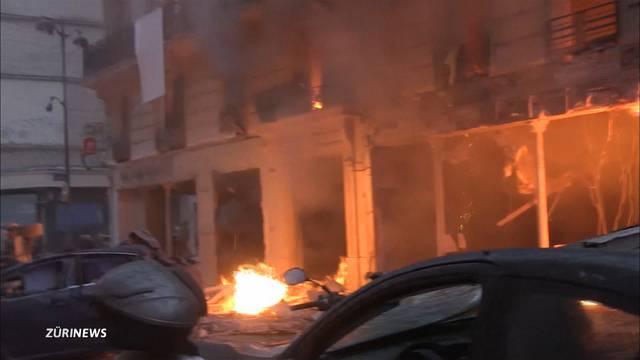 Mindestens drei Tote nach Explosion in Paris