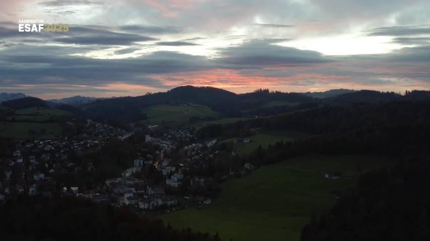 Kandidatur ESAF 2025: Ein Imagevideo wirbt für St.Gallen