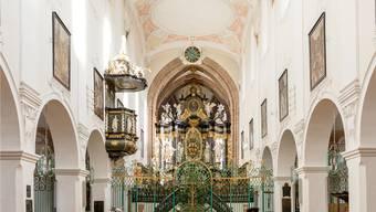 Hoher Besuch im Verenamünster in Bad Zurzach: Kardinal Kurt Koch hält am Verenatag die Festrede, das Schweizer Radio und Fernsehen überträgt live.