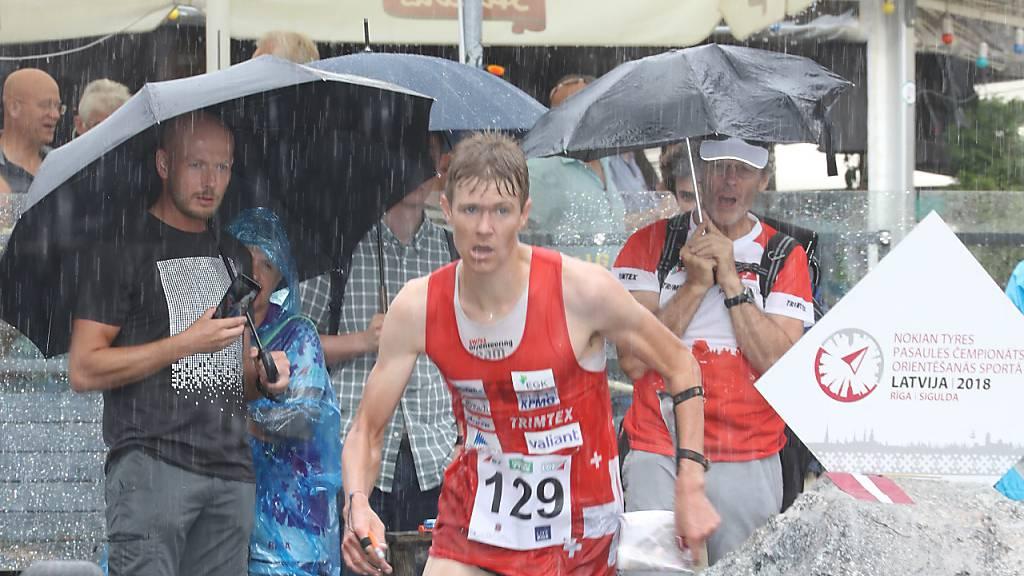 Andreas Kyburz lief 2018 in Riga zu WM-Bronze