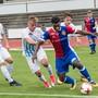 U21 FCB / FCZ: FCB Nr 9 Afimoco Pululu