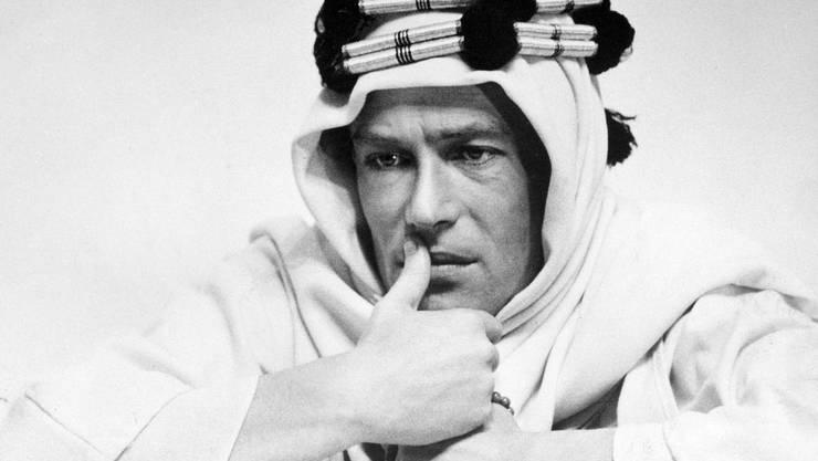 Peter O'Toole als Lawrence von Arabien.
