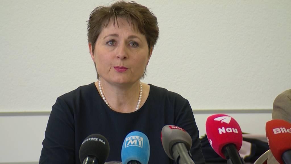 Überraschend: Franziska Roth gibt ihren Rücktritt bekannt