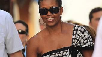 Michelle Obama gibt sich als Touristin