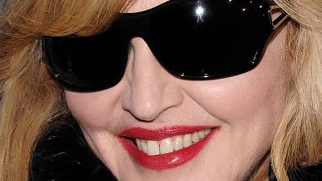 Ist stolz auf ihr Engagement in Afrika: Pop-Ikone Madonna (Archiv)