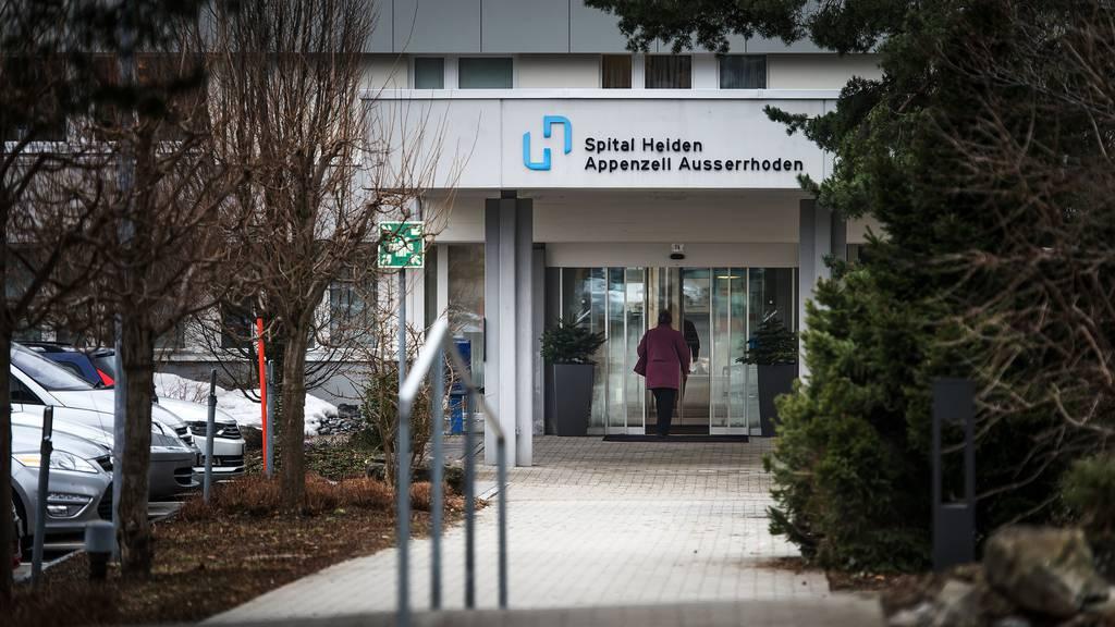 Das Spital Heiden rutscht weiter in die roten Zahlen