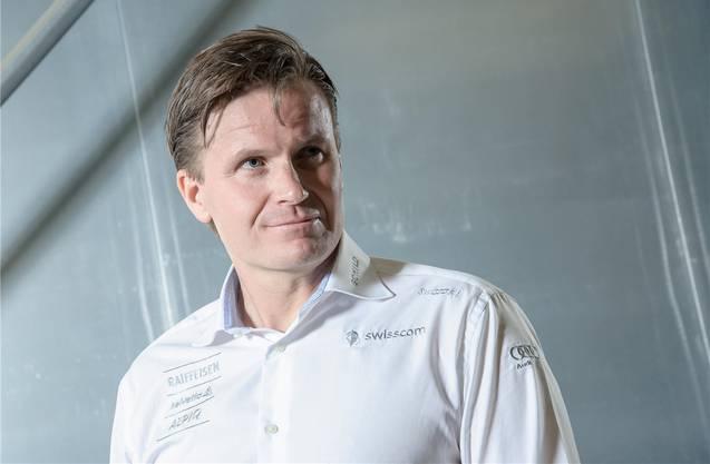 Urs Lehmann als Präsident des Schweizerischen Skiverbandes.