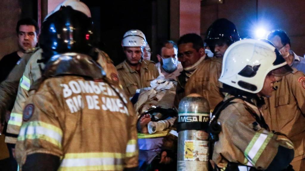 Zehn Tote bei Brand in brasilianischem Spital