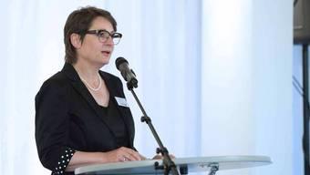 Sozialvorsteherin Franziska Roth überbrachte die Grüsse der Regierung und sparte dabei nicht an Kritik.