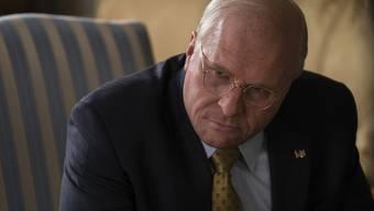 Kaum wiederzuerkennen: Oscargewinner Christian Bale als US-Vizepräsident Dick Cheney.