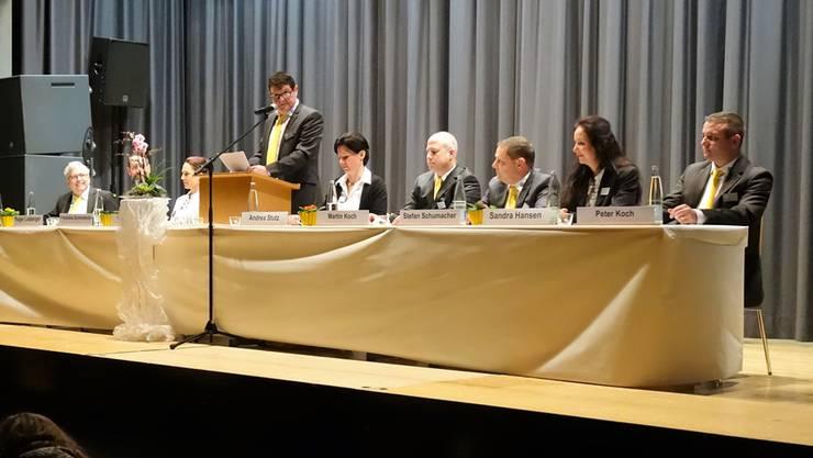 Marco Lütolf, Präsident der TCS Untersektion Freiamt, und der Vorstand konnten wie immer zahlreiche Mitglieder zur Generalversammlung mit anschliessendem Showblock und Tanz willkommen heissen.