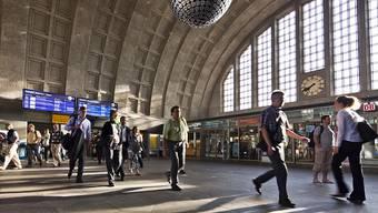 Von der Agglomeration direkt zum Badischen Bahnhof: Parlamentarier beider Basel fordern die Einführung einer direkten S-Bahn-Verbindung vom Rheintal zu den Pharma-Arbeitsplätzen im östlichen Kleinbasel. (Archivbild)