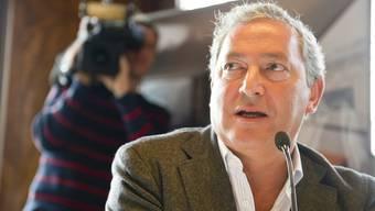 Samih Sawiris muss mit seinem Unternehmen Orascom Verluste einstecken (Archiv)