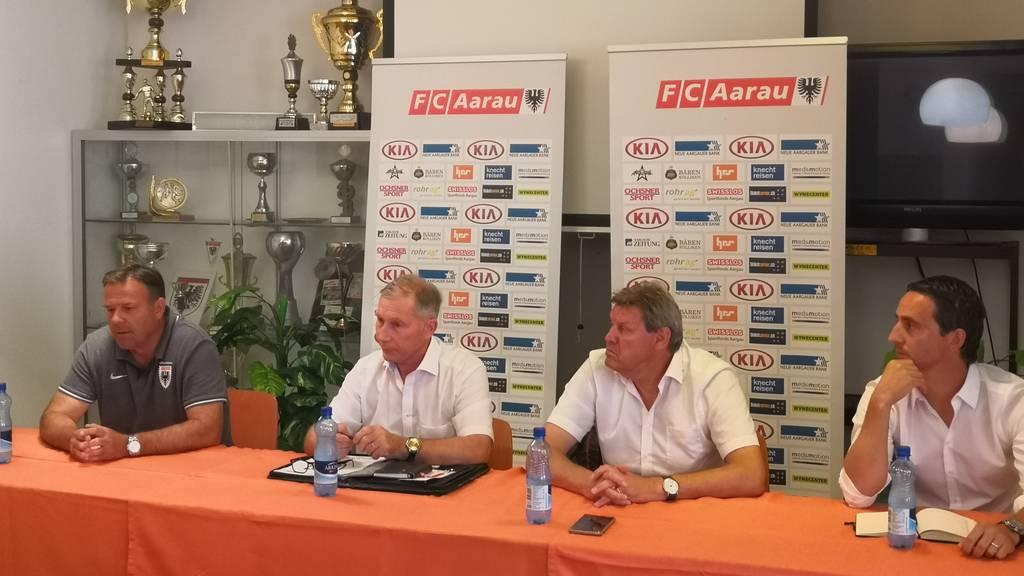 Wie hat der FC Aarau das Debakel verdaut?
