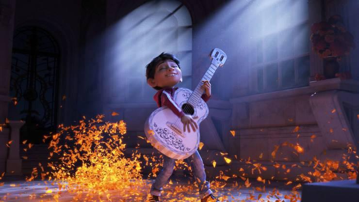"""Der Animationsfilm """"Coco"""" hat sich am Wochenende vom 30. November bis 3. Dezember 2017 an der Spitze der US-Kinocharts gehalten. (Archiv)"""