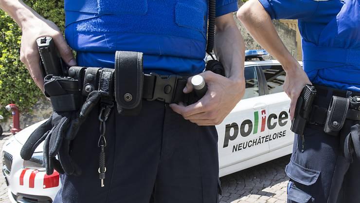 Die Neuenburger Polizei konnte den mutmasslichen Täter rasch verhaften. (Symbolbild)