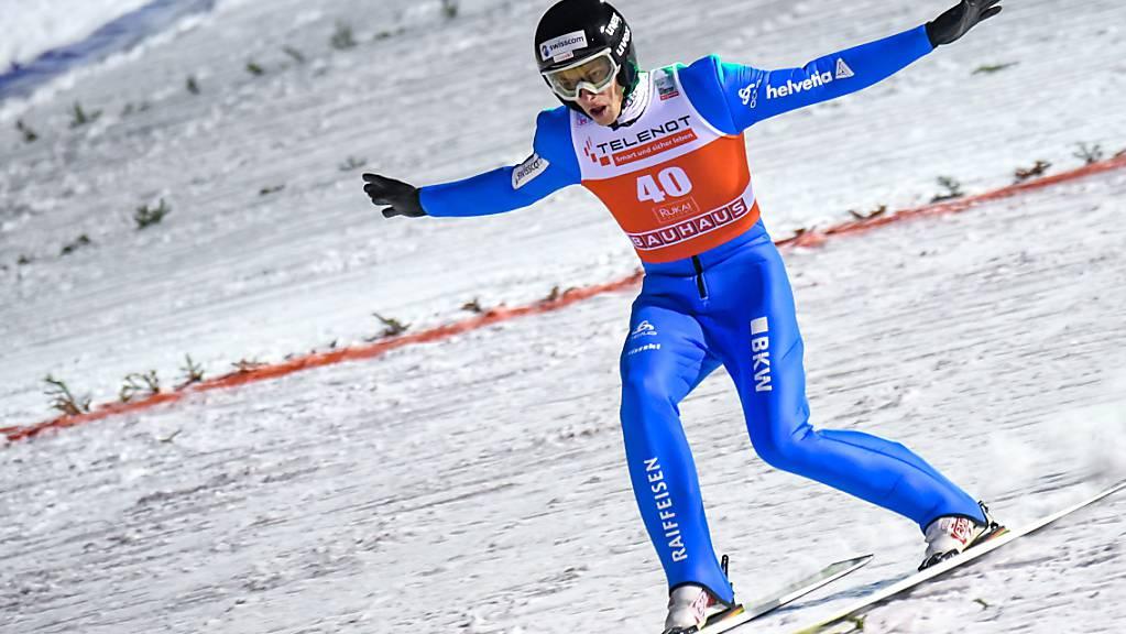 Gregor Deschwanden landet erneut in den Punkterängen.