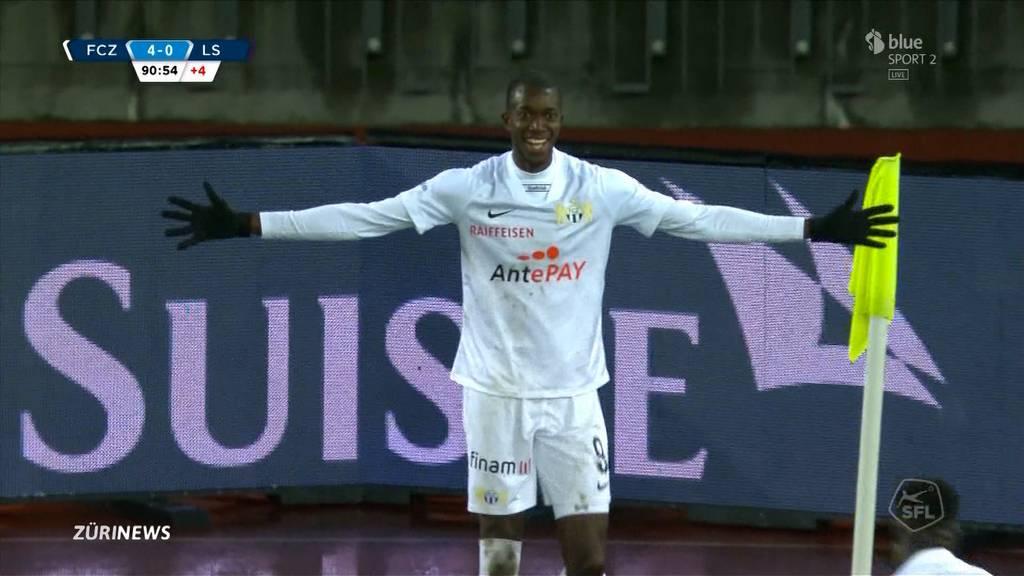 4:0 gegen Lausanne: FC Zürich zurück auf Erfolgskurs