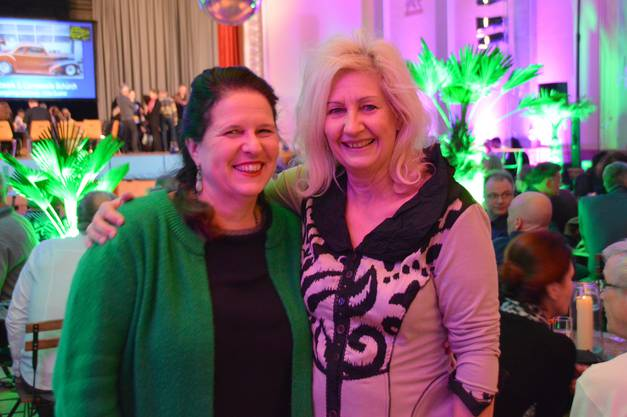 Barbara Obrist (links) und Ellen Häbig freuten sich auf den Event.