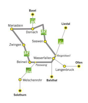 Die ViaSurprise ist als regionale Route 32 Teil des Schweiz Mobil-Netzes. Jeder Etappenort kann Ausgangs- oder Endpunkt einer individuell geplanten ein- oder mehrtägigen Wanderung sein.