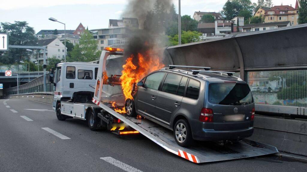 Weniger Einsätze der Luzerner Feuerwehr im Pandemiejahr 2020