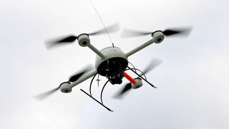 Der mutmassliche Spion soll auch eine Drohne verwendet haben.