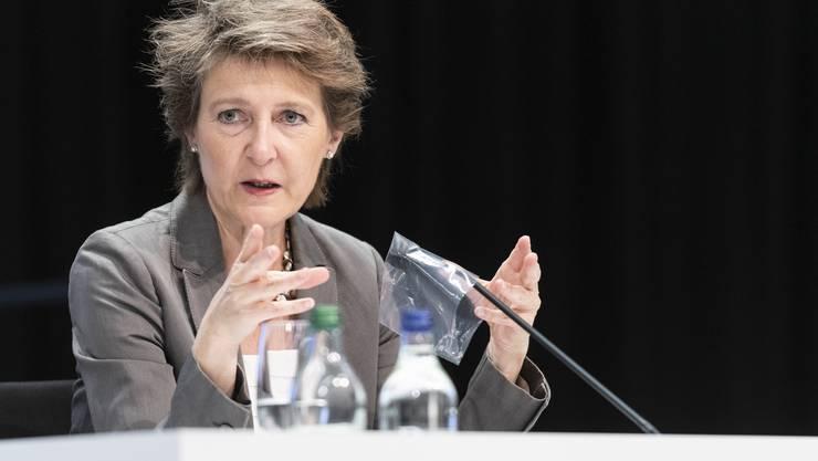 Bundespräsidentin Simonetta Sommaruga wendet sich am Weltumwelttag mit den Präsidenten Deutschlands und Österreichs an die Bevölkerung.